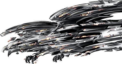 Geometric Eagle Grays